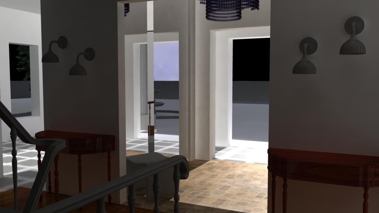 Sasha Lacroix Maison Virtuelle Int Rieur Hall D 39 Entr