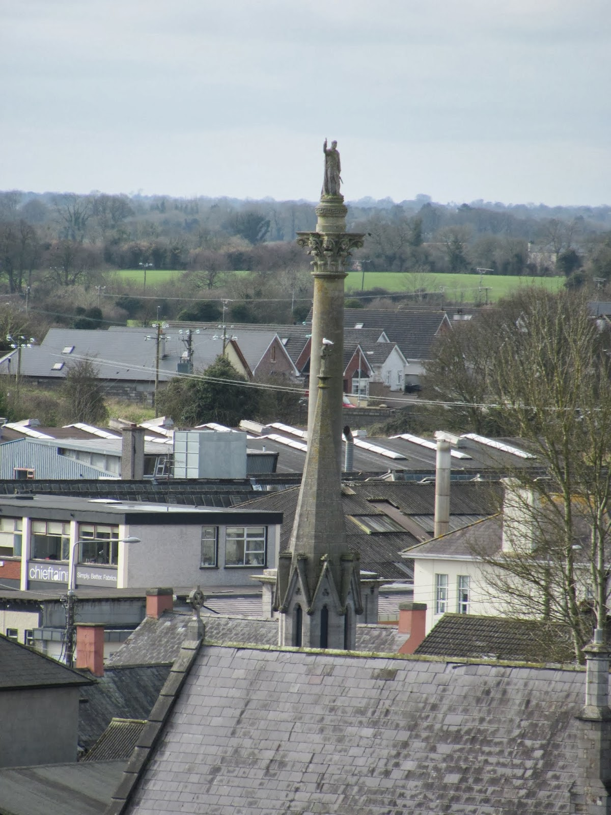 Wellington Monument in Trim, Ireland