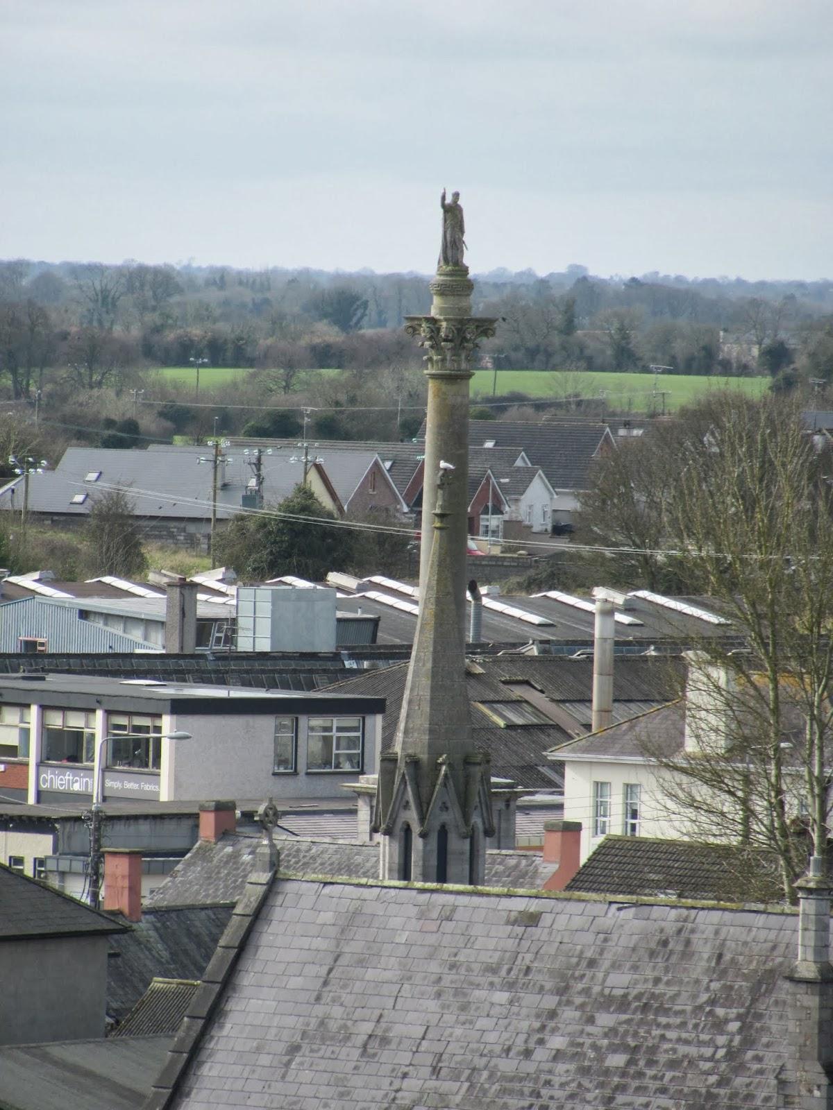 Wellington Monument in Trim, Ireland