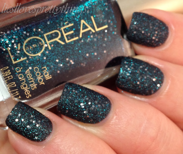 L'Oreal Gold Dust collection Hidden Gems swatch and review
