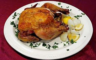 Garlic Lemon Roasted Chicken