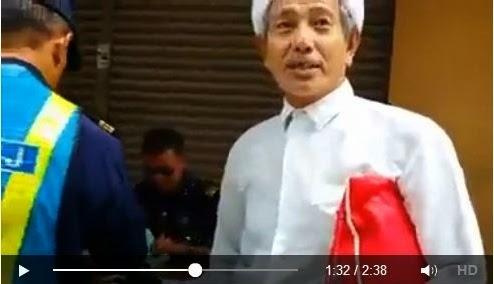 Video pengasas Pondok Geting disaman JPJ tersebar