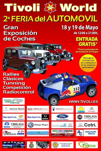 Foro gratis : RcDrift Malaga - Portal POSTER+40x60+FERIA+del+AUTOMOVIL