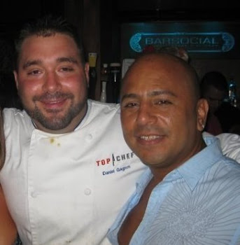Chef  Venezolano Carlos La Cruz and Top Chef DanieL GAGNEN