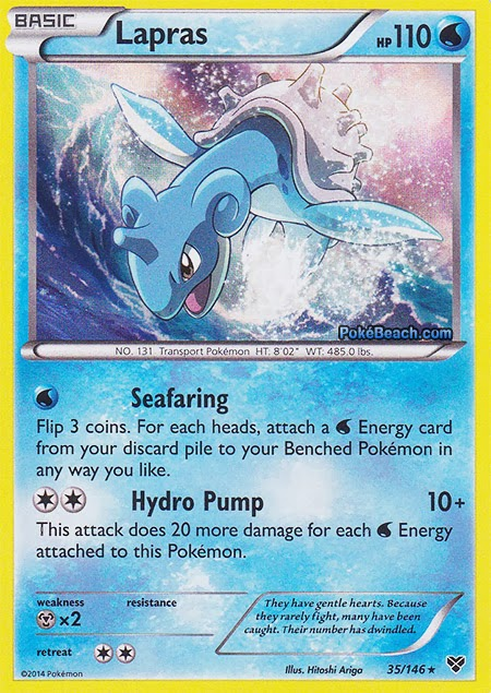 Lapras -- Pokemon X and Y Card Review | PrimetimePokemon's ...