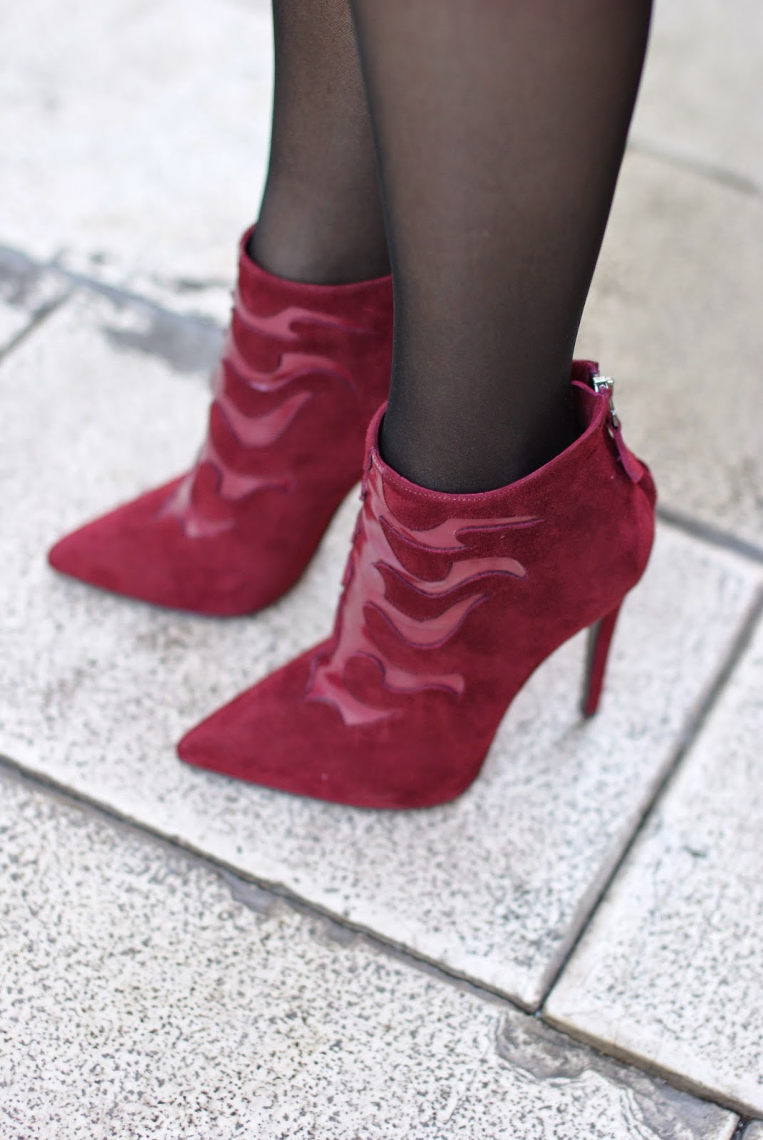 Nando Muzi suede ankle boots, stiletto suede ankle boots, Fashion and Cookies, fashion blogger