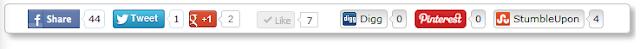 Memasang tombol share dan like di blog