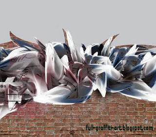 Innovation wild style on graffiti art
