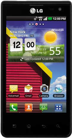 LG LUCID Phone Android 2.3 and connecty 4G LTE