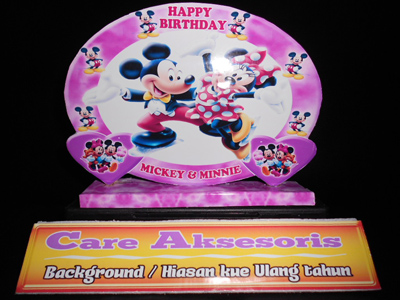Background Kue Ulang Tahun / Aksesoris Kue Ulang Tahun