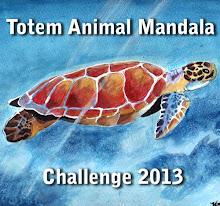 The Totem Animal Mandala Challenge 2013