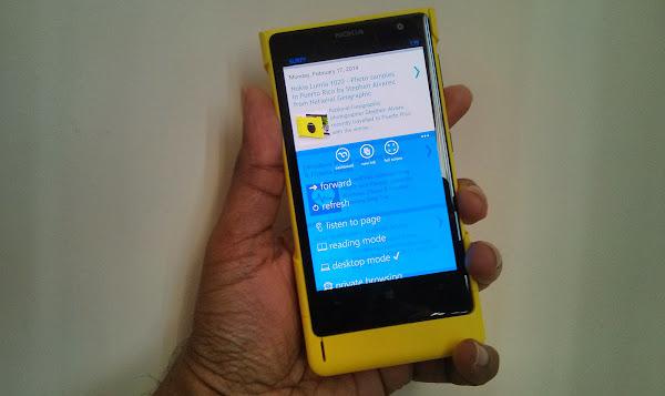 Surfy for Windows Phone