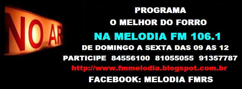 O MELHOR DO FORRO