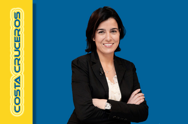 NOTICIAS DE CRUCEROS - María Jesús García, nueva Directora General de Costa Cruceros en España y Portugal