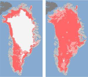 Groenlandia perdió el 97% del hielo en cuatro días  1343201911_594692_1343202187_noticia_normal