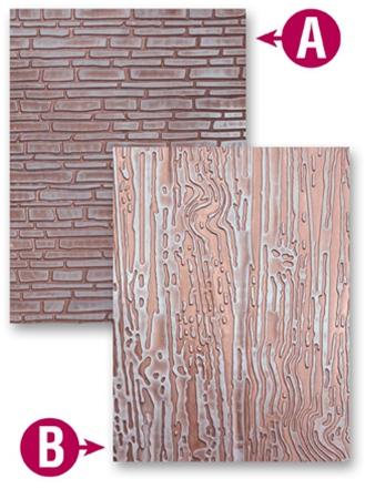 Brick Embossing Folder4