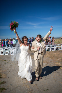 Drew & Alisha - Married - Patricia Stimac, Seattle Wedding Officiant