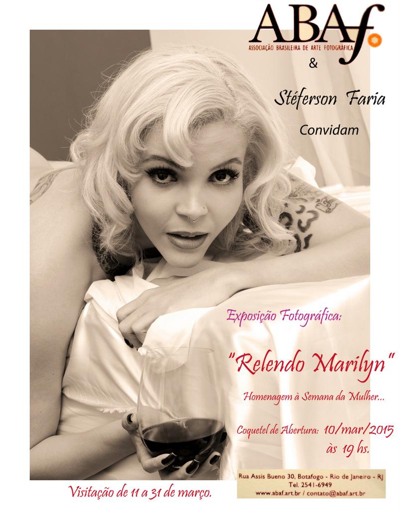 Relendo Marilyn, by Steferson Faria