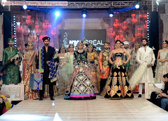 PFDC Bridal Fashion Show 2014-2015 | Ali Xeeshan