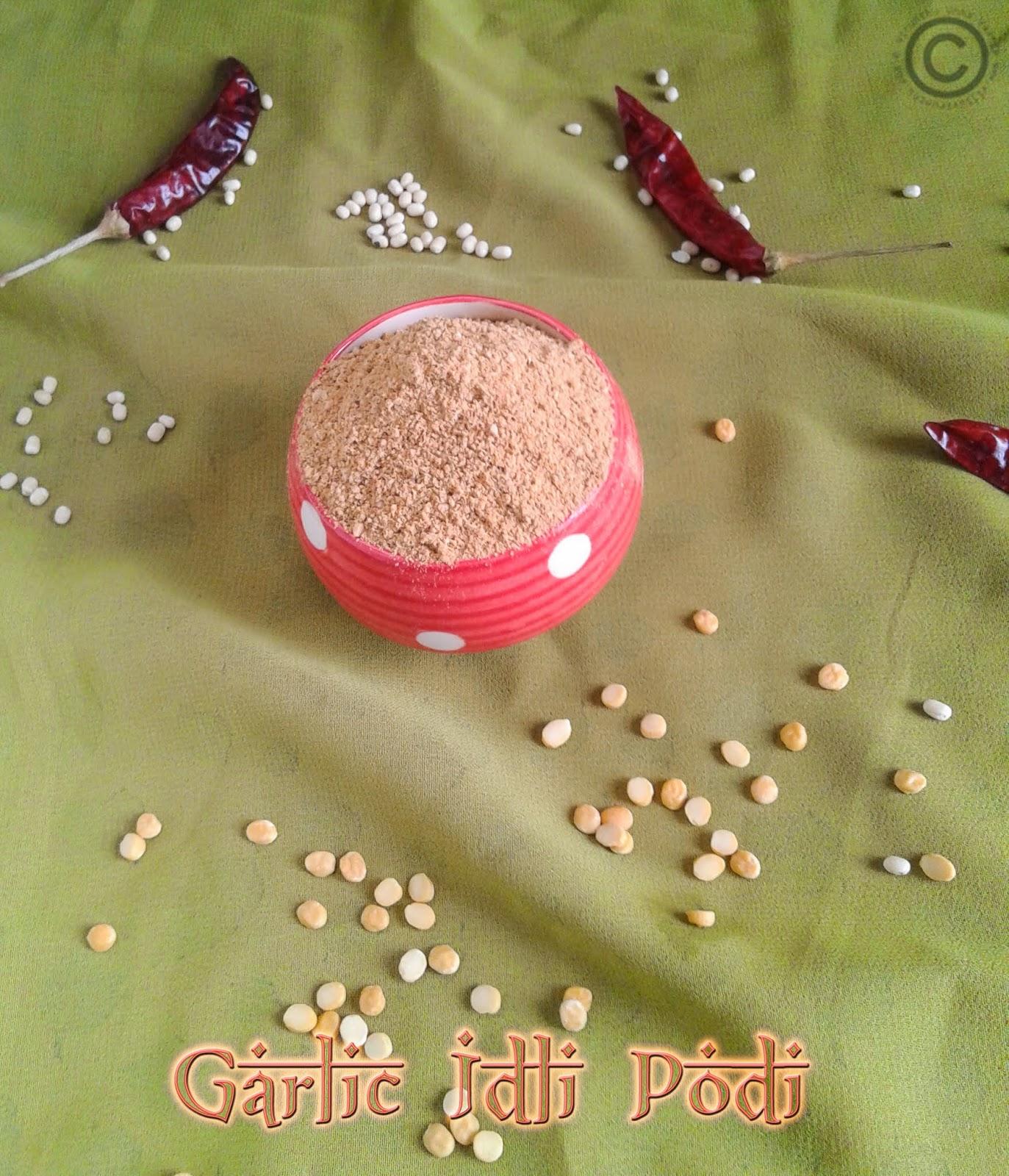 garlic-idli-podi