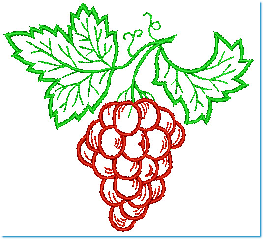 Patrones para bordar fruta - Imagui
