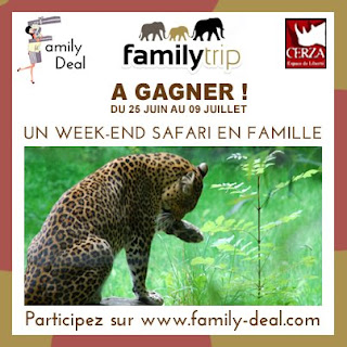 Jeu familytrip: un week end Safari en famille en Normandie