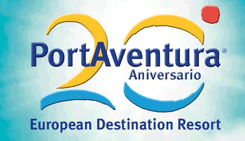 Logo 20 Aniversario PortAventura