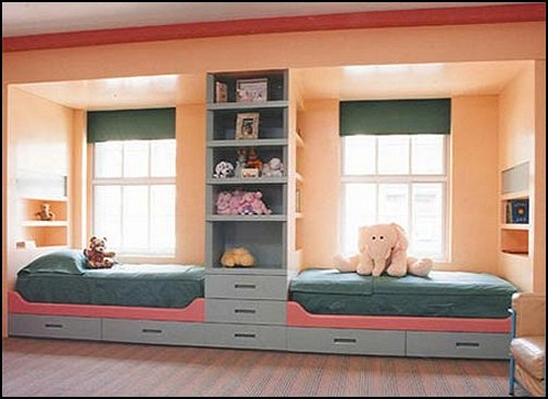 shared bedroom theme ideas for girls sharing teens style decorating - Kids Bedroom Decorating Ideas Girls