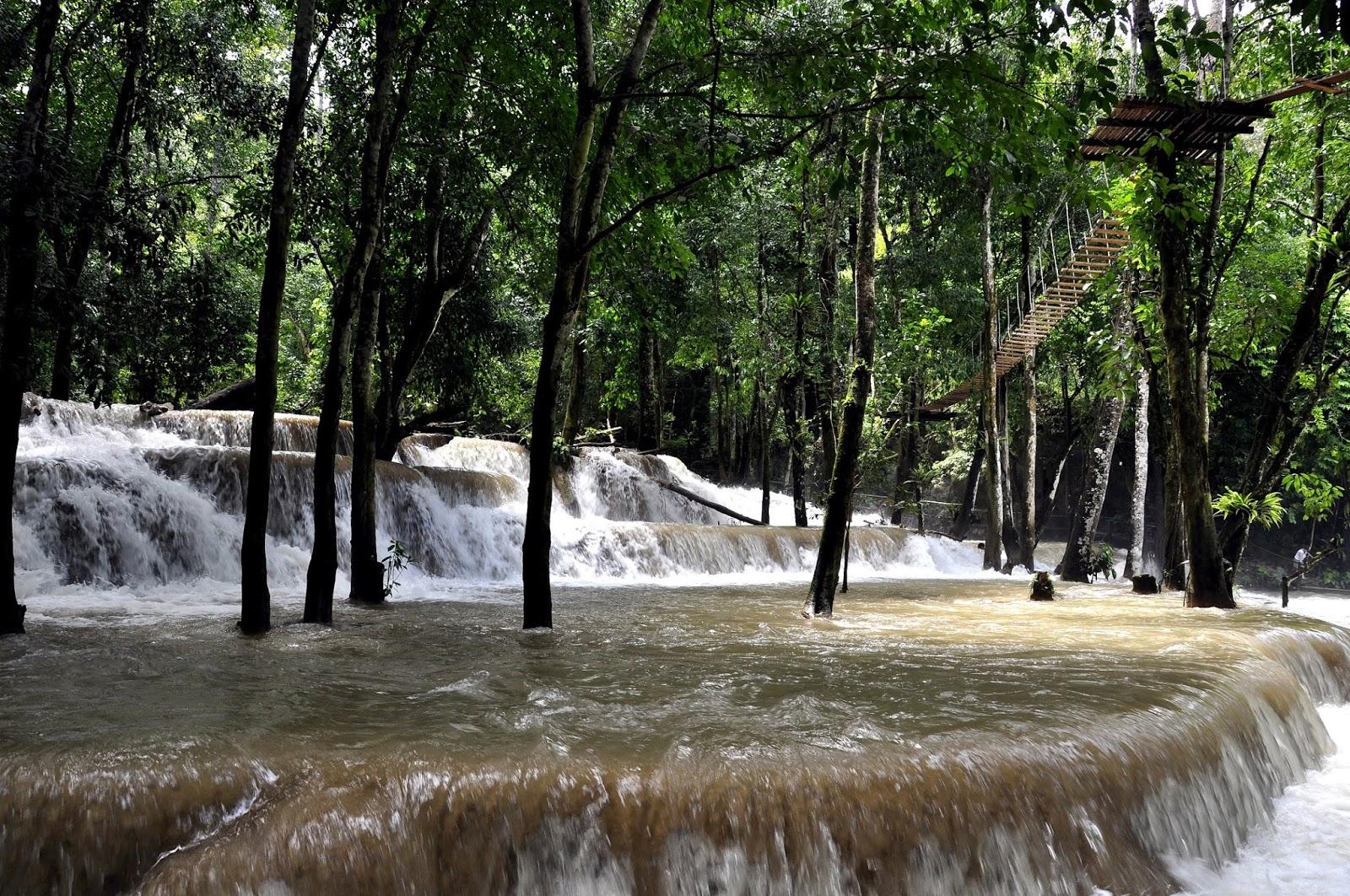 LAOS; Las cataratas Tad Sae en Luang Prabang