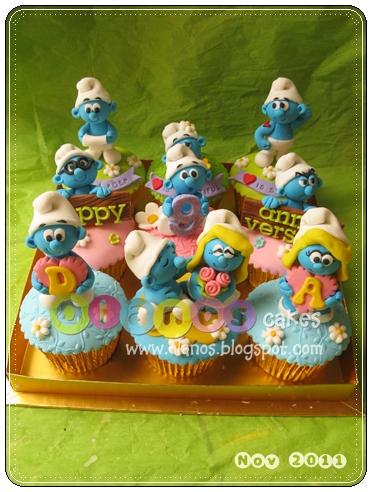 Baby Cake Smurf Meme