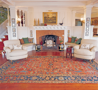 rug master decorating with oriental rugs