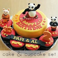 cake n cupcake set