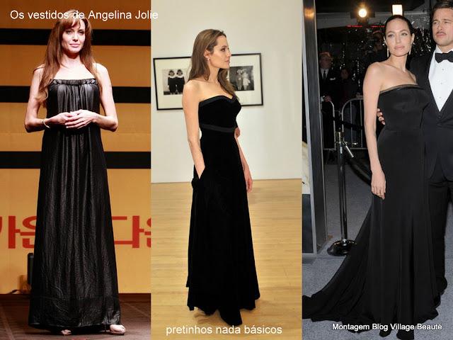 Vestidos pretos longos