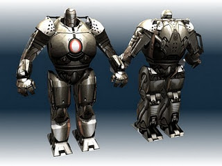 Iron Man 2 Papercraft, Iron Monger Model