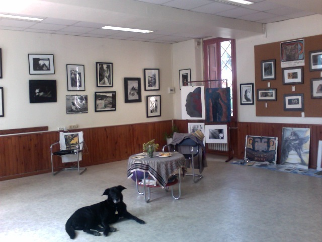 -Galery show-  City Hall of Bourg-madame, French Pyrenees.