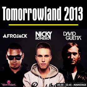 Tomorrowland   Nicky Romero, David Guetta e Afrojack 720p HD
