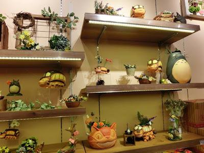 Totoro Cute Display at Donguri Republic in Taipei