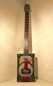 Mastro-castor, 6-string Tin Can Resonator