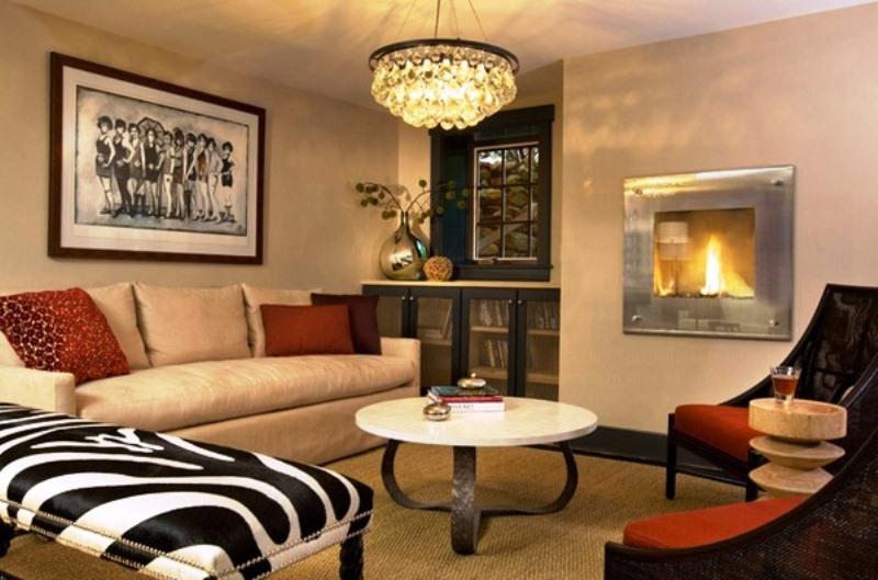 desain lampu gantung ruang tamu minimalis