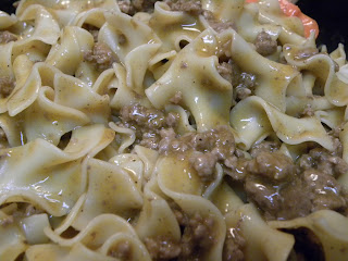 Homemade Beef Stroganoff - Gravy and Noodles