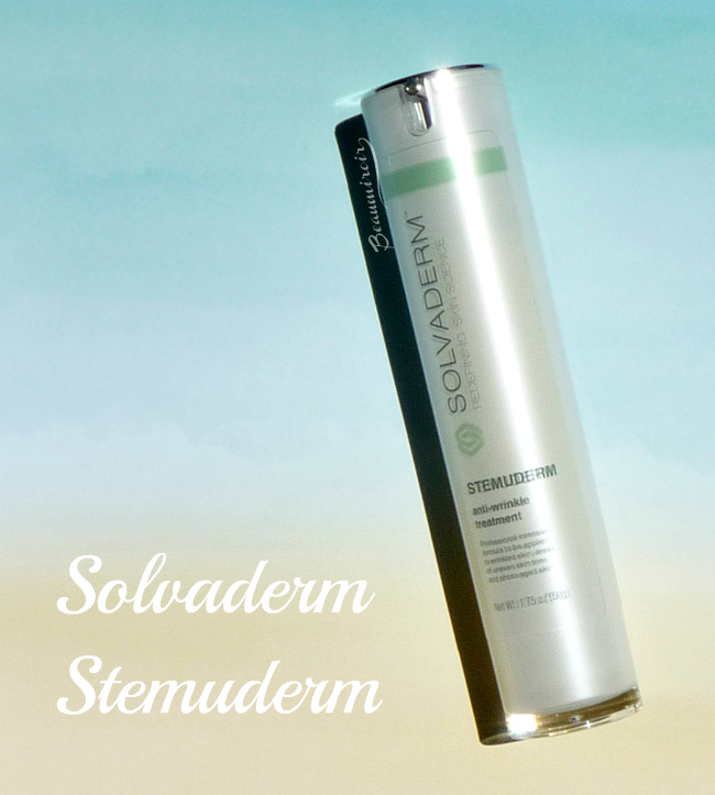 New In The Anti Aging World Solvaderm Stemuderm Review Beaumiroir
