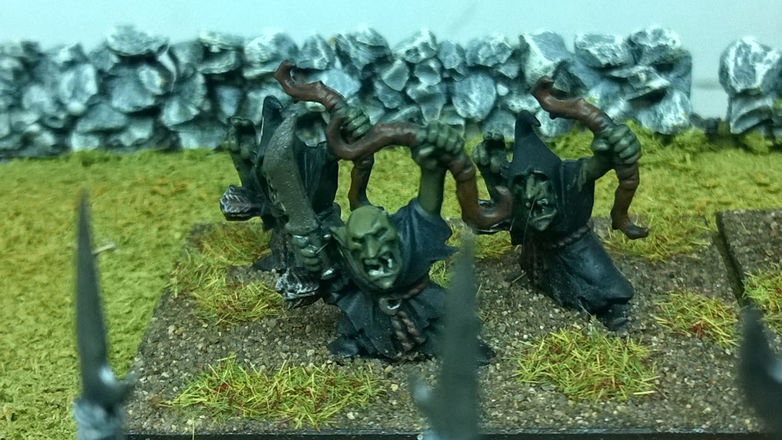 Battle for skull pass goblins warhammer