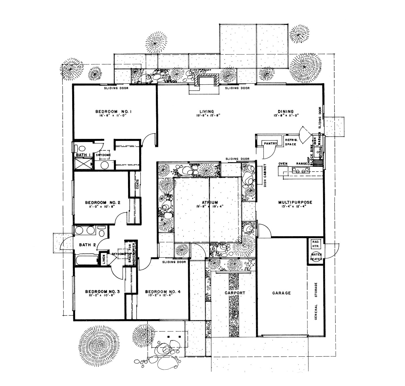 Geek out time our floorplan dear house i love you for Eichler designs