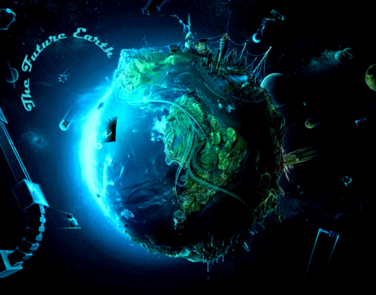 Future Earth Computer Wallpapers Desktop Backgrounds  1332x1000