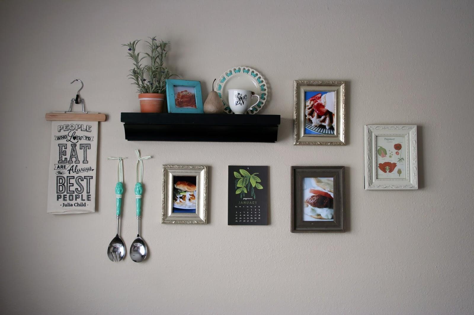 Gentil Kitchen Gallery Wall