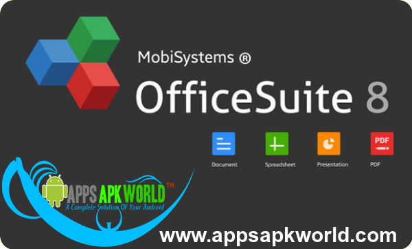 OfficeSuite 8 Premium + PDF Converter v8.2.3137 Cracked APK