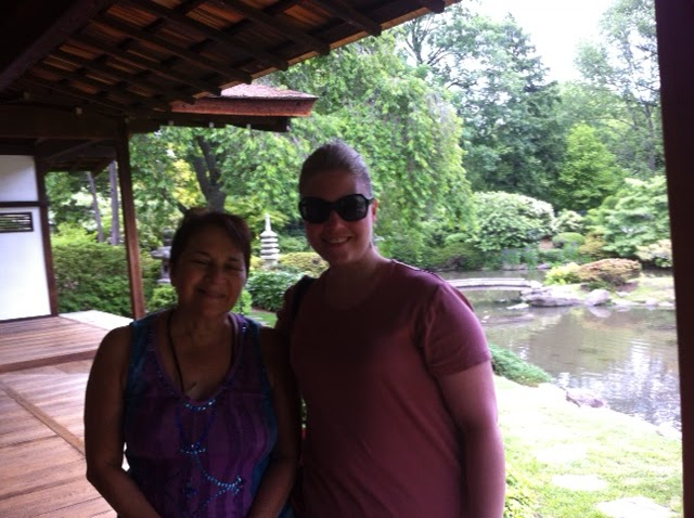 Ada And Friends Go To The Japanese Gardens In Fairmount Park   Two Poems:  Meditation In A Japanese Teahouse And The Quiet House By Linda Barrett