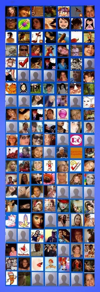 Pessoas que gentilmente seguiram este blog desde a sua abertura.