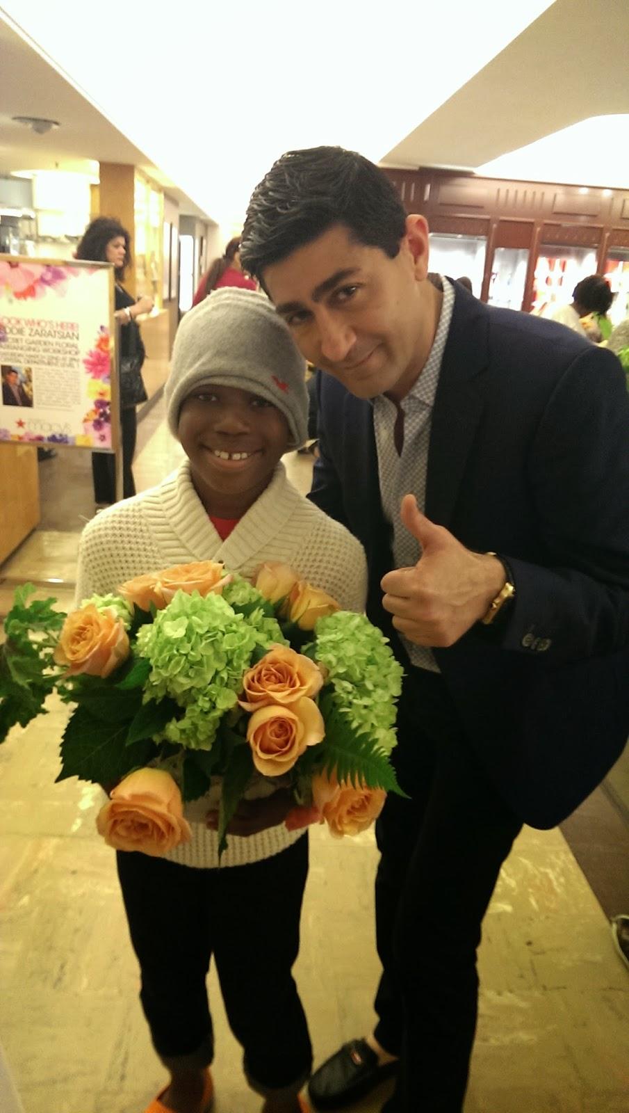 Spring+Flowers+at+Macy Macys Spring Fashion Celebration With Eddie Zartatsian - Macy's Flower Show