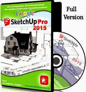 Software Cracker 24 Google Sketchup Pro 2015 Full Crack